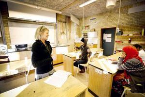Eva Josefssons tycker att skolan förändrats tack vare fadderprojektet.