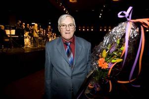 STIPENDIAT. Yngve Magnusson fick i går ta emot Gävle Jazzklubbs stipendium.