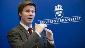 Erik Ullenhag (FP), integrationsminister.