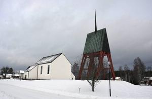Klockstapeln i Ånge har åter drabbats av röta.