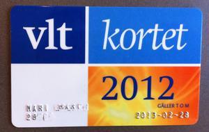 Till vänster på kortet, under ditt namn hittar du ditt prenumerationsnummer.