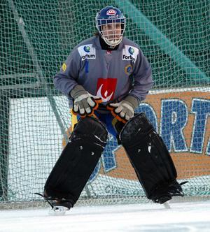 Andreas Bergwall när Sverige mötte Finland 2004.