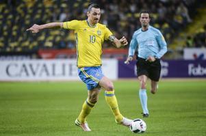 Zlatan Ibrahimovic och resten av det svenska herrlandslaget i fotboll spelar EM i sommar. Arkivbild.   Foto: Fredrik Sandberg/TT