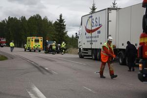 En olycka inträffade vid Fors på fredagsförmiddagen.