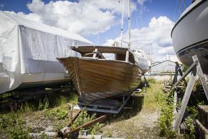 En båt vars nästa destination är skroten.