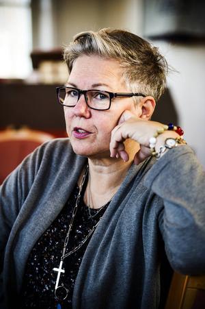 Biskop Eva Nordung Byström.