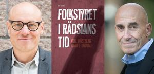 Daniel Lindvall och Olle Wästberg har skrivit en bok om hoten mot demokratin.