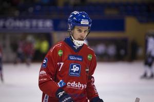 Mattias Hammarström riskerar att missa hemmamötet mot Hammarby