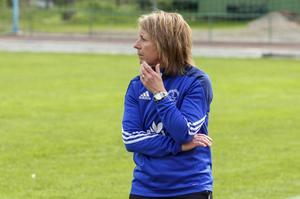 Förbundskapten Eva Lambertsson är nöjd med elitlägret i Halmstad.