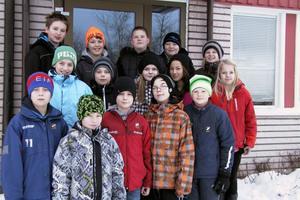 Hela Edsby-klassen for till Gävle på tisdagseftermiddagen för att heja på sina kamrater. Men femmorna fick se sig besegrade med en poäng efter en fantastisk upphämtning av Celsiusskolan.