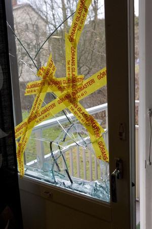 Krossad framtid. Även till synes små Inbrott kan ge plåga offren under lång tid.foto: VLT:s arkiv