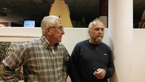 Håkan Sjöberg och Mats de Vahl berättade om Kramfors.