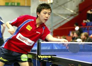 Två medaljer fick Jimmy Jin med sig hem från junior-SM i Karlstad.