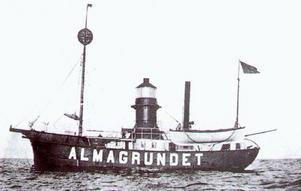 Almagrundet byggdes av Brodins Skeppsvarf i Gävle.
