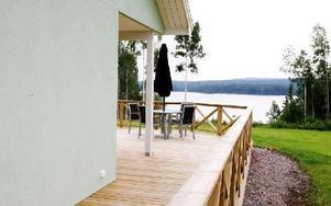 En hel del tomter har sålts och hus har byggts på Larssveden, men på senare tid har försäljningen av tomter gått trögt. Foto: Thomas Isaksson/arkiv