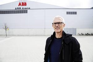 Nu vänder Ola Johansson ryggen åt ABB Arena och blickar hem mot Edsbyn och Svenska Fönster Arena.