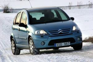 Citroën C3 1,6 HDi. 149 900 kronor. Släkten brukar vara värst. Men halvsyskonet når inte upp till 207:an.