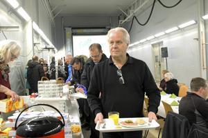 Frukost i tvätthallen, första och enda gången, säger Ernst Express styrelseordförande och delägare Christer Steingruber-