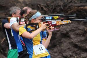 Karin Stenback, Dalregementet, segrade i totala världscupen.