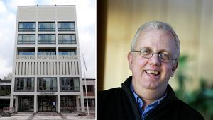 I talarstolen läste Nils Gunnar Kempe högt ur en av GD:s artiklar.
