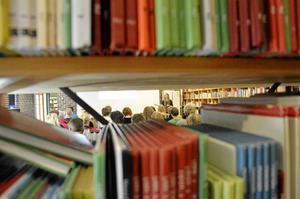 I bokmagasinet arrangeras ofta föreläsningar. Bild: JAN WIJK