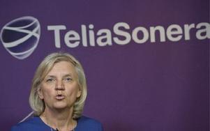 Telia Soneras tidigare Sverige-vd, Marie Ehrling, blir ny styrelseordförande i företaget. Foto: Janerik Henriksson/Scanpix