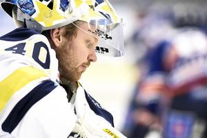 Mars 2016. Erik Ersbergs sista säsong i SHL-laget HV71.