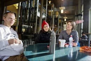 Tommy Mellberg, till vänster, kommer från Stockholm och bor i Östersund.