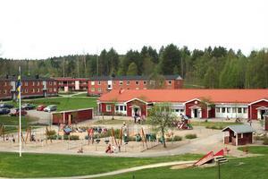 Bålleberget har Nordanstigs mest välutrustade lekpark till sitt förfogande.