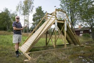 Stanley Åkerlind och Dalsjö byförening ansvarar för barnens Tough race.