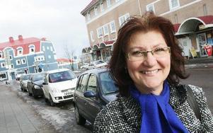 Kerstin Eriksson, lokalredaktör på DalaDemokraten i Avesta och som också jobbat i både Borlänge, Säter och Hedemora, lämnar nu DD för kommunal projekttjänst i Avesta.FOTO: CHRISTIAN LARSEN