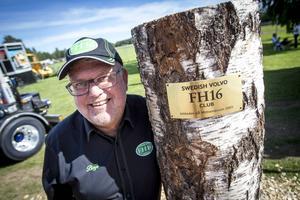 Boije Overbrink startade FH16-klubben som firade tio år på mässan i Ljusdal.