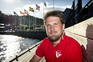 Robert Bergström tränar Anundsjö för femte säsongen. Foto: JENNIE SUNDBERG/ARKIV
