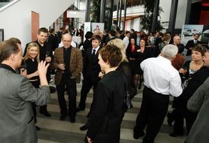 Eldklotet. Förra året var 600 företagare, offentliga beslutsfattare och representanter från olika näringslivsorganisationer i Gävleborg på plats i Läkerol Arena för den tredje upplagan av företagargalan Eldklotet.