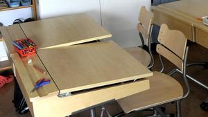 I nästa vecka ringer det in till terminsstart, då fylls skolbänkarna åter med elever. Foto: Janerik Henriksson/TT
