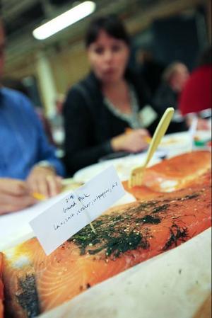 Gravad lax finns med i en av matgrupperna som bedöms.