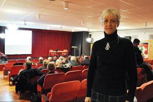 – I arbetet med att förbättra företagsklimatet har alla en viktig del, säger Inger Lagerquist, kommunchef.