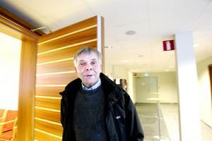 – Det såg inte så trevligt ut, säger Per Nilsson om torrläggningen, men menar att skadorna blev mindre än vad åklagaren hävdar.
