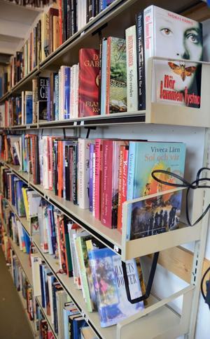 Böcker kan man köpa för 1-5 kronor.