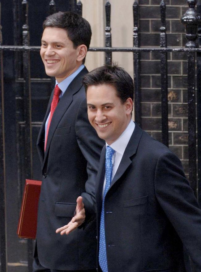 Brittiska labour ser at vanster