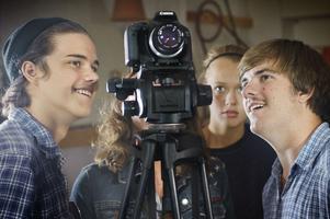 Nästa fredag har ungdomarnas film premiär på Kulturkiosken i Gävle.