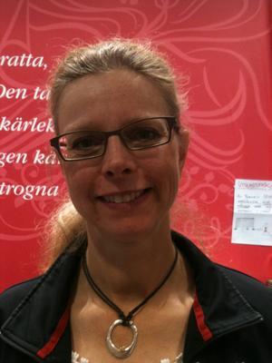 Alice Thorburn, bibliotekarie på Stockholms stadsbibliotek.   Foto: Privat