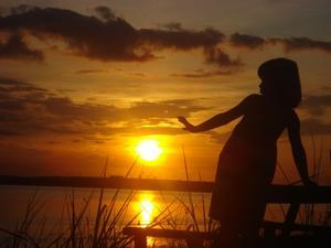 Sommaren sa adjö en magisk kväll i slutet av augusti.