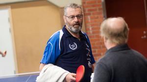 Norbergs BTK:s Bosse Frank skadade sig tidigt i sammandraget.