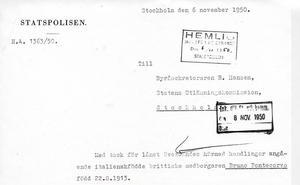 Den svenska polisen deltog i efterforskningarna när familjen försvunnit till Sovjet.