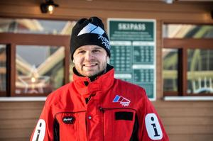 Viktor Funcke, Romme Alpin, ser fram emot att äntligen få dra igång anläggningen för säsongen.