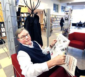 Flemming Eriksson tycker att omflyttningen är slöseri och vill hellre se ett nytt bibliotek.