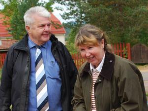 Lasse Nygård med bästa dam som blev Ann-Katrin Hedbom med 66 slag.