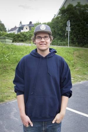 Gabriel Sundholm är en av de engagerade ungdomarna.