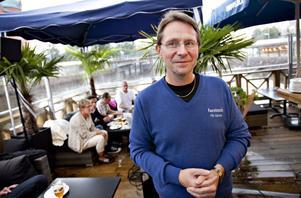 initiativtagare. Leif Grytenius älskar att få folk att mötas och därför tog han initiativet till Gävles första träff för Facebookare.